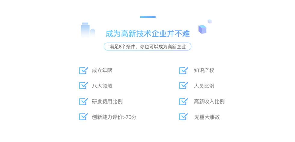 國家高新技術企業認定條件